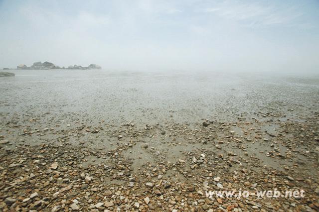 席毛島の海岸